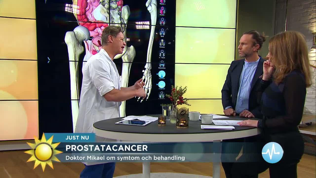 symptom på prostatacancer