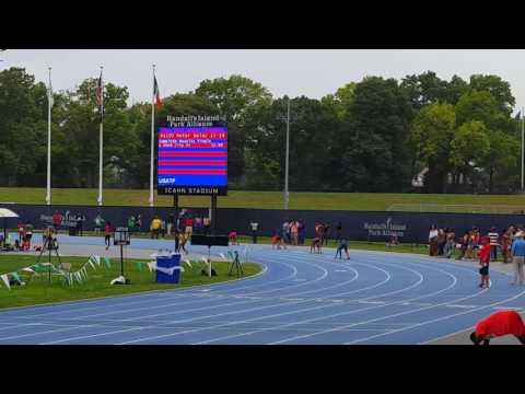 15-16 Novas girls 4×1 relay, Icahn Stadium