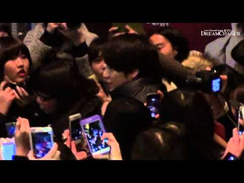 [HD FANCAM] 140118 Kyuhyun after Moon that Embraces the Sun musical