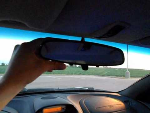how to stop rear view mirror rattling when sub playing