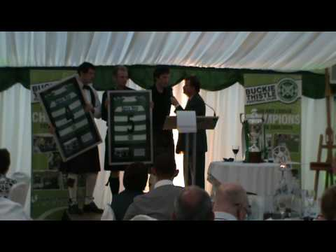 Buckie Thistle Marquee in the Park celebration - The Interview's Part 2/6