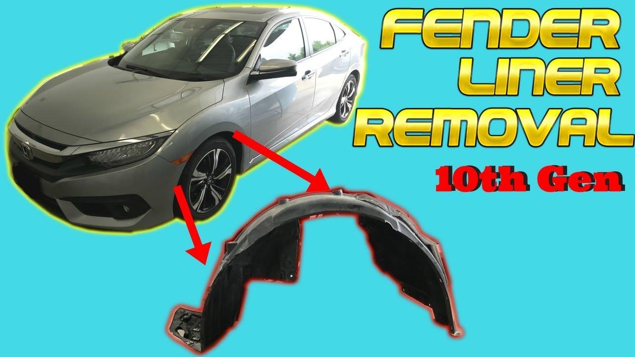 Fender Liner For 2007-2008 Honda Fit Front Driver and Passenger Side