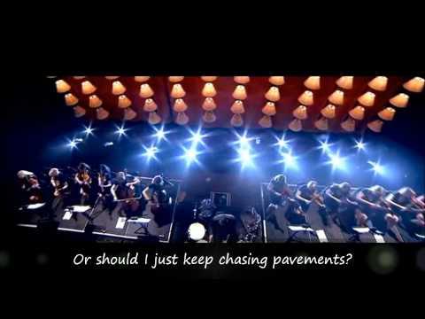 Adele  Chasing Pavements with Lyrics   at The Royal Albert Hall