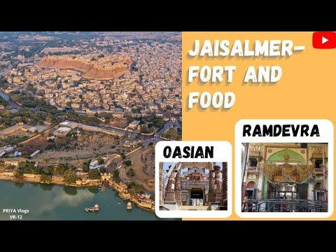 JAISALMER FORT | TOP 10 RESTAURANT | RAMDEVRA TEMPLE OPEN | OSIYA MATA TEMPLE | JODHPUR RAILWAY ST |