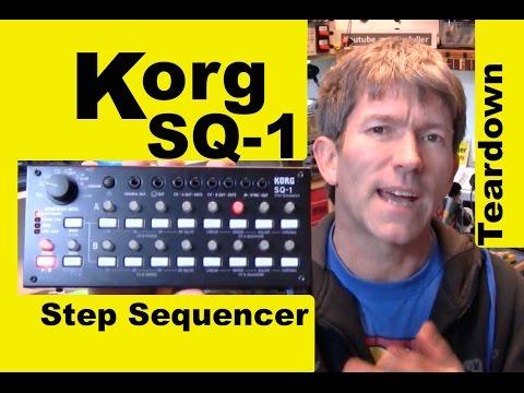 Korg SQ-1 CV Gate Step sequencer Teardown MF#67