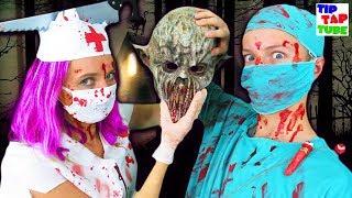Grusel Kostüme zu Halloween 👻 💀 TipTapTube 😁 Familienkanal 👨👩👦👦
