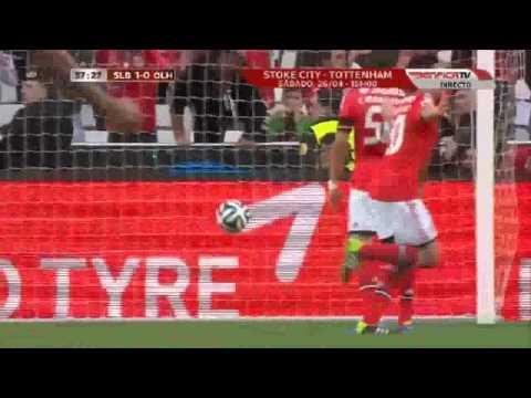 Benfica 2 0 Olhanense  ☆CAMPEÕES☆   HD1
