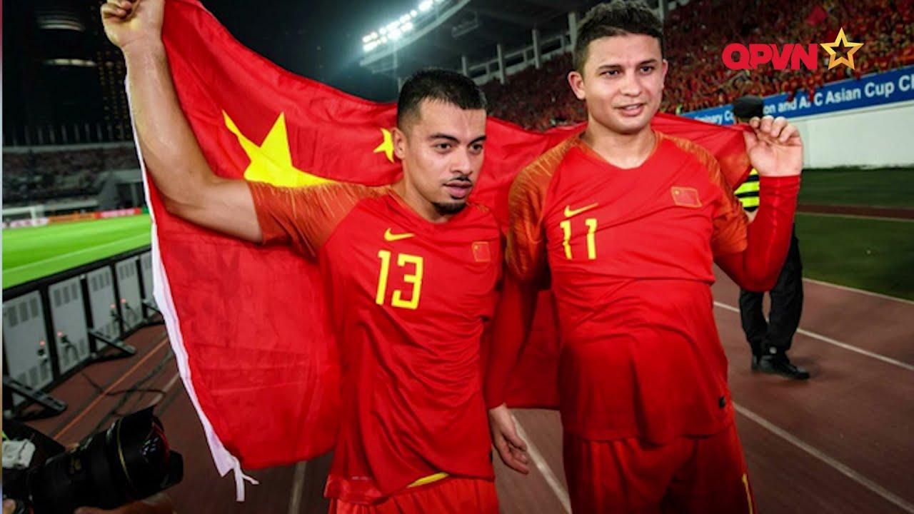 Ngoại binh của ĐT Trung Quốc bỏ ngỏ khả năng đá trận gặp ĐT Việt Nam