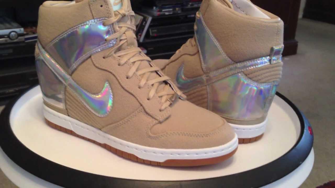 new concept 5a32f 1d9db @Nike Womens Dunk Sky Hi CITY FW QS - Tokyo - Marissa's Kicks 3-31-13 - Metallic  Silver / Linen