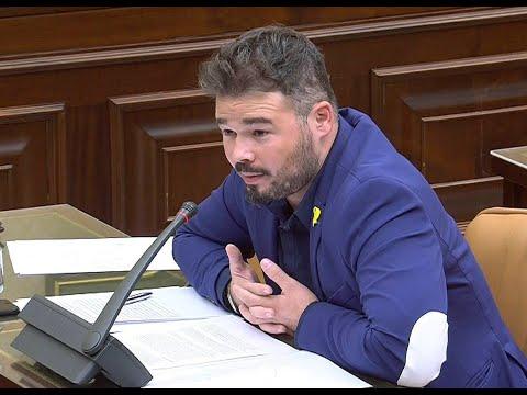 """Una diputada del PP, a Rufián: """"No me guiñes el ojo, imbécil"""""""