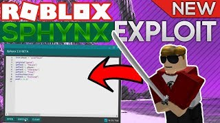 [TRIAL] ROBLOX Exploit/Hack: Sphynx LUA C EXECUTOR! (SCRIPTS) (2017) (PATCHED)