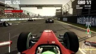 F1 2010 - Gameplay Italiano