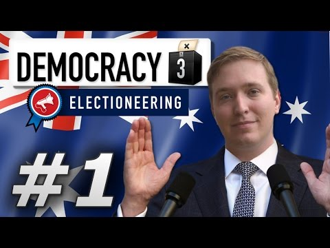 Democracy 3: Max Difficulty | Australia  - Year 1