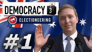 Democracy 3: Max Difficulty   Australia  - Year 1