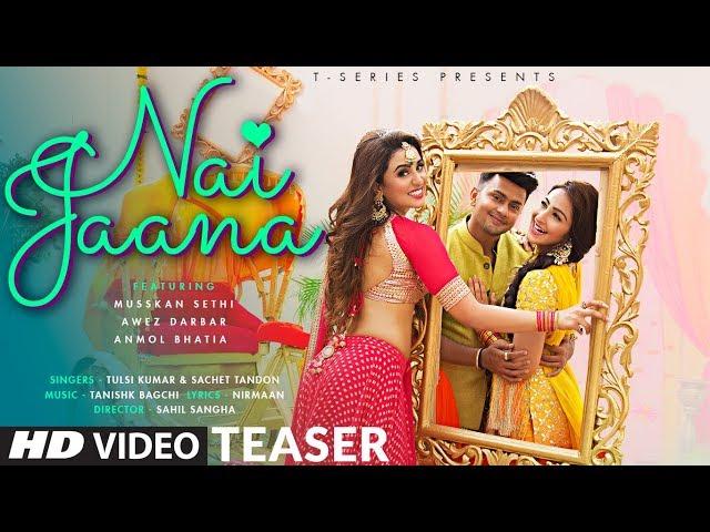 Nai Jaana (Teaser) | Tulsi Kumar, Sachet Tandon, Tanishk Bagchi | Awez Darbar  Releasing►24 October