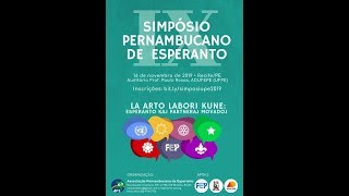 IX Simpósio Pernambucano de Esperanto 2019