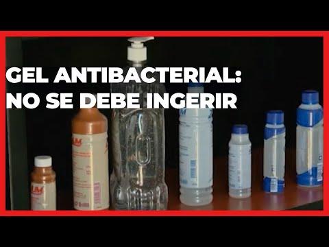 No se debe ingerir gel antibacterial | Las Noticias Puebla