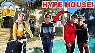 MOVING INTO THE TikTok HYPE HOUSE!? *Crazy*