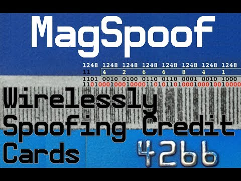 Magspoof What Information Is On Magnetic Stripe Of Credit Card