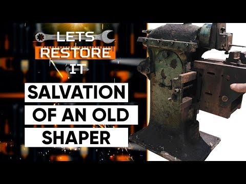 Old metal shaper restoration