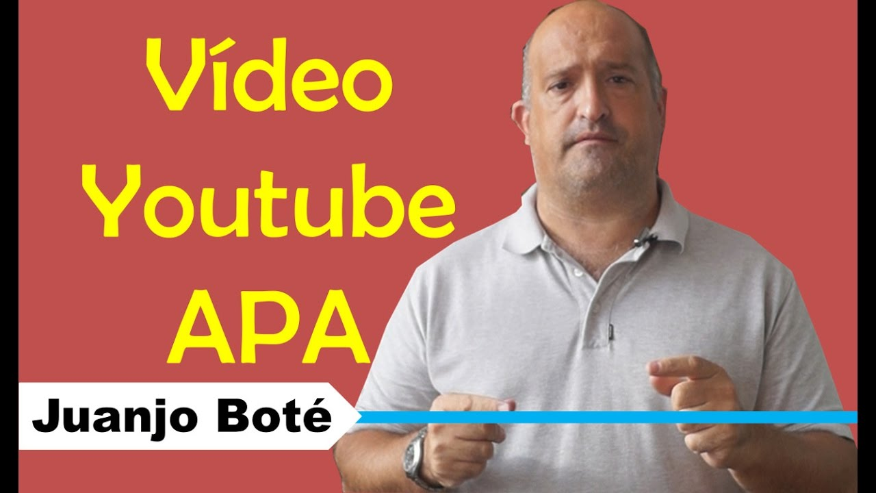 How To Cite In Apa A Youtube Video