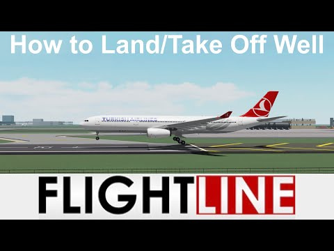 How to Take Off/Land Well in Flightline