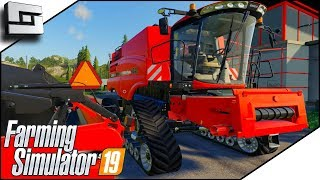 New Harvester! Case Axial-Flow 9240! - Farming Simulator 19 Gameplay E11