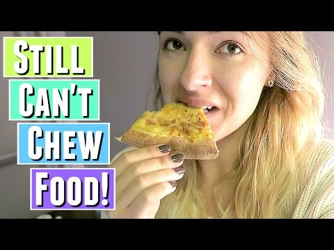 STILL CAN'T CHEW FOOD! | WISDOM TEETH SURGERY RECOVERY