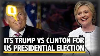 The Quint: Hillary Clinton Becomes US' First Female Presidential Nominee