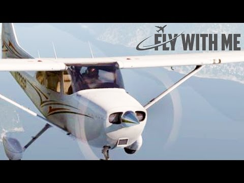 X-Plane 11 Flight School #3 - VOR Navigation