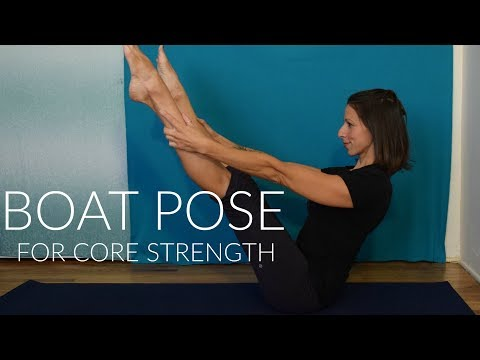 Boat Pose For Core Strength (Beginner to Advanced) | Navasana