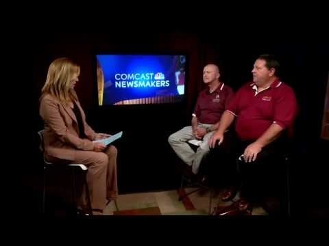 Comcast Newsmakers Preview: Kevin Kinel and Jim Voss, Duneland Swim Club (IN - 2016)