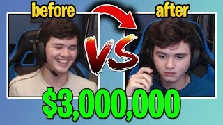 BUGHA BEFORE vs AFTER Fortnite World Cup $3,000,000 *WIN* (Evolution Of BUGHA)