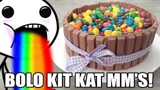 O Fabuloso Bolo de Kit Kat Com MM's!