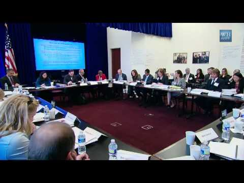 White House Council for Community Solutions Kickoff Meeting Part 1