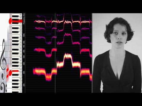 polyphonic overtone singing - explained visually