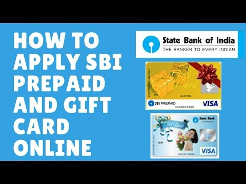 Apply Prepaid And Gift card Online