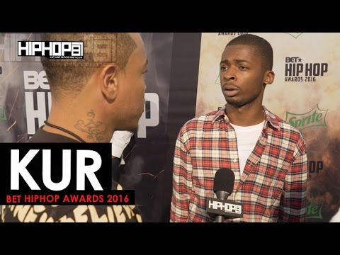 Kur Talks Signing To E-One, New CD 'Shakur', BET Cypher & More (2016 BET Green Carpet with HHS1987 )