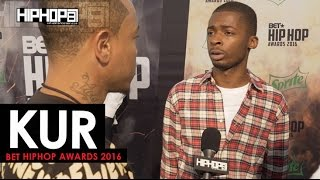 Kur Talks Signing To E-One, New CD #39Shakur#39, BET Cypher amp More 2016 BET Green Carpet with HHS1987