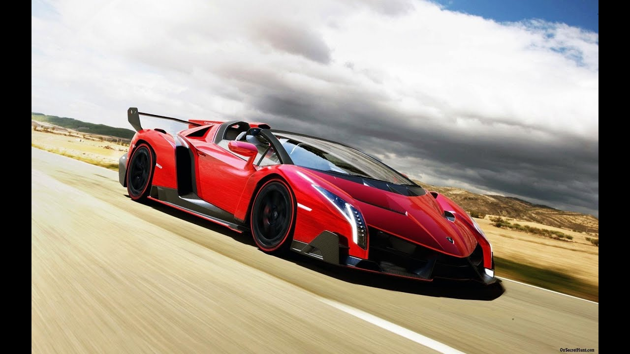 2014 Lamborghini Veneno Roadster 4 6 Million Most