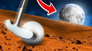 GOLFING TO THE MOON! - Golf It