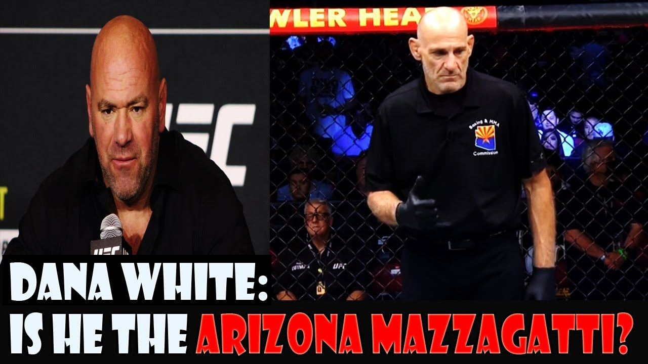 DANA WHITE REACTS TO THE REFEREE LATE STOPPAGE   IS HE ARIZONA MAZZAGATTI? HILL VS CRAIG UFC 263