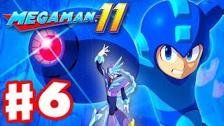 Mega Man 11 - Gameplay Walkthrough Part 6 - Tundra Man Stage! (PC)