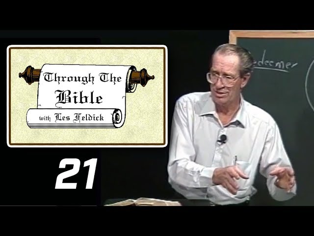 [ 21 ] Les Feldick [ Book 2 - Lesson 3 - Part 1 ] Noah: The Ark of Security: Genesis 6:1-7:10