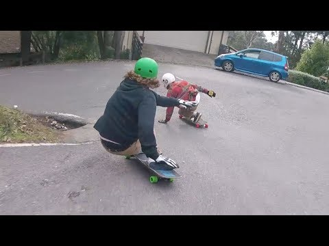 Lemon Pep Bois Bay Area Edition 9 // Downhill Skateboarding California