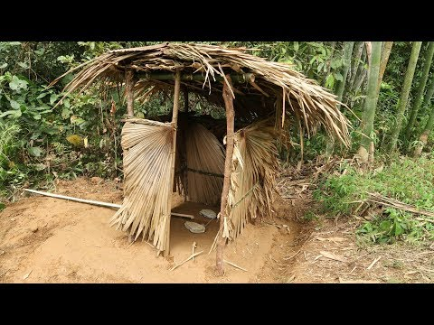 Primitive Technology: Toilet (WC) Part-3