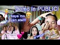DEMO in PUBLIC ft. Precious Skin Care Cosmetics First Impression + UNBOXING