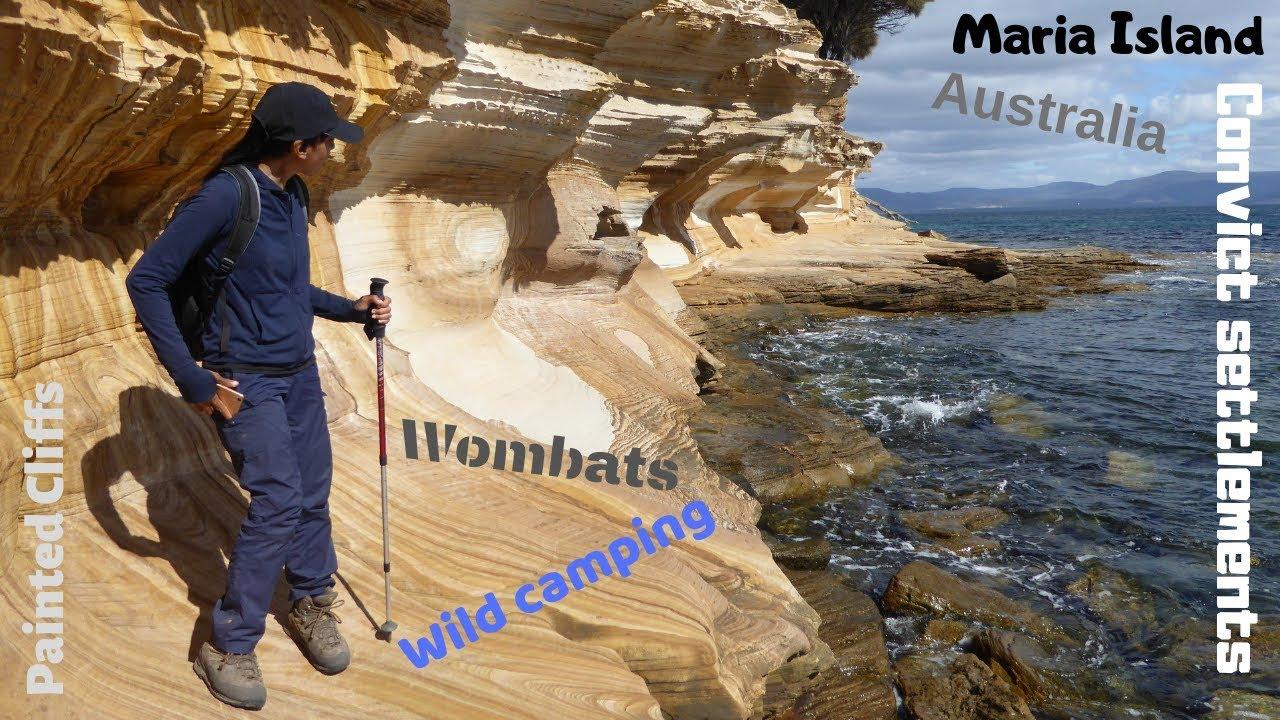 Wild camping on Maria Island Tasmania Australia. - YouTube