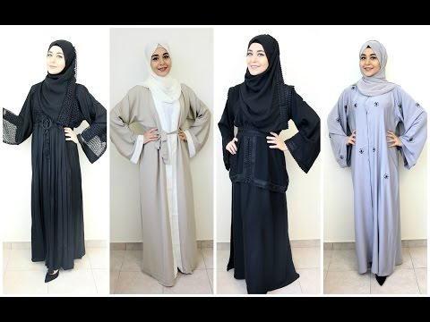 Abaya Lookbook feat. EMIRATES DRESSING | Muslim Queens by Mona