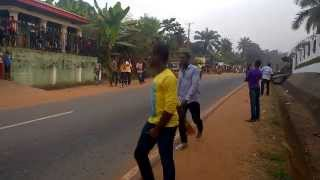 Masquerade Sprint At Mbaukwu - Awka South Anambra State, Nigeria